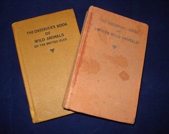 Observer books Wild Animals