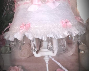 large lamp heating pad three lights and chandelier shabby chic french