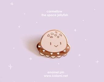 Carmellow the Space Jelly Enamel Pin