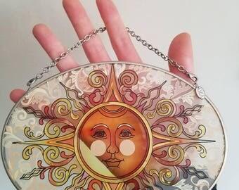 Amia Stained glass Sun (Sun-God)