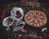 Rune Altar Tiles - Helm of Awe - Futhark