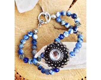 Sodalite Life of Balance Bracelet