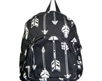 Small backpack-child backpack-backpack-toddler backpack-gift-Arrow backpack-girl backpack-monogrammed backpack-personalized backpack-arrow
