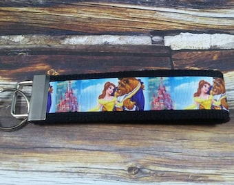 Beauty and the Beast Keyfob