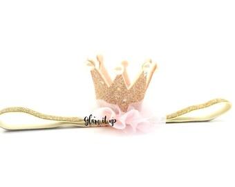 1st birthday crown-first birthday crown-first birthday headband-princess crown-1st birthday headband-birthday crown-cake smash crown