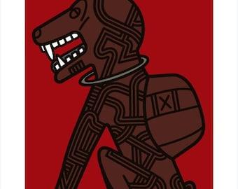 Manu Zed - Magic Dog Nkisi Kongo
