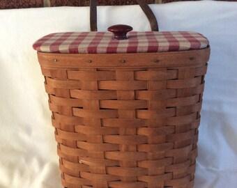 Longaberger - large key basket