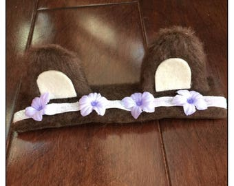 Bear Hugs, Bear ears, Bear headband, photo prop, Christmas gift, gifts for her, gifts for kids, stocking stuffer