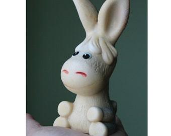 Soviet Rubber donkey. Soviet Toy. Vintage Toy. Soviet animals. toy.  USSR. Soviet.  donkey. ass