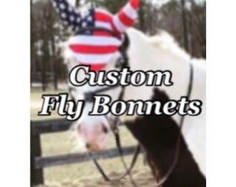Custom Fly Bonnets