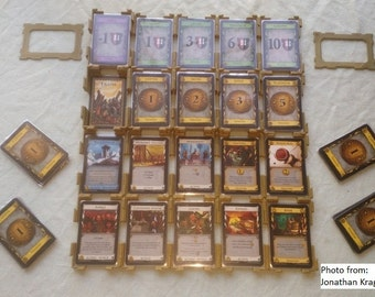 Stackable Dominion Sleeved Card Tray/Holder