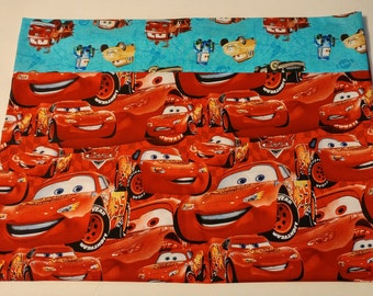 Lightning McQueen pillowcase