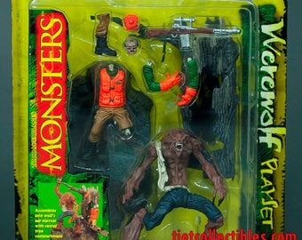 Todd McFarlane's Monsters Werewolf Action Figure Playset McFarlane Toys