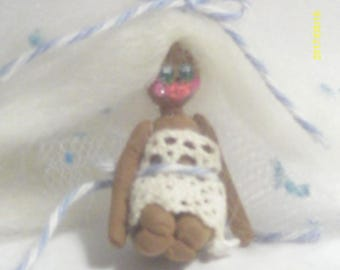 Miniature Cloud Angel Doll