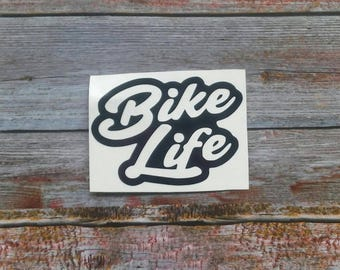 Yeti Decal for Men, Bike Life Decal, Motorcycle Decal, Motorcycle Sticker, Car Decal for Men, Yeti Decal, Car Window Decal, Laptop Decal