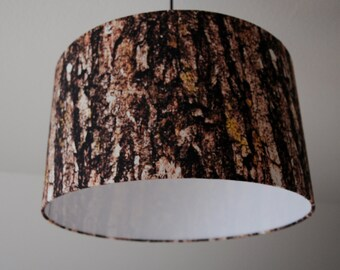 "Lampshade ""tree bark"" (tree bark)"