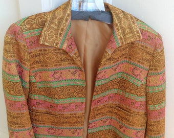 Vintage 1970s Hippy Love Statement Jacket