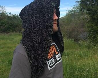 Men's Crochet Hood