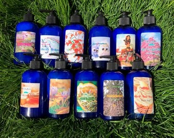 8oz Liquid Hand Soap (Choose Your Scent)