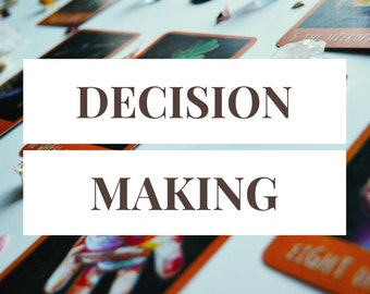 Decision Making Reading -- Pros, Cons, and Outcomes -- 8 Card Tarot Reading + 2 Follow-Up Cards -- Photo of Spread Included