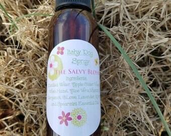 Itchy Dog Spray, Hot Spot Spray, Pure Essential Oils, Chemical Free Fragrance