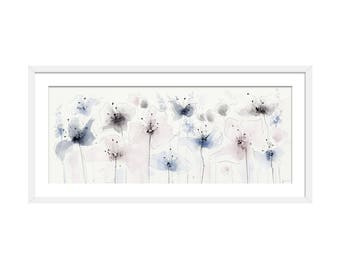 Floral Art Print. Flower Print. Flower Painting. Floral Painting. Wall Art. Wall Decor
