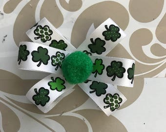 St Patrick's Day Bow