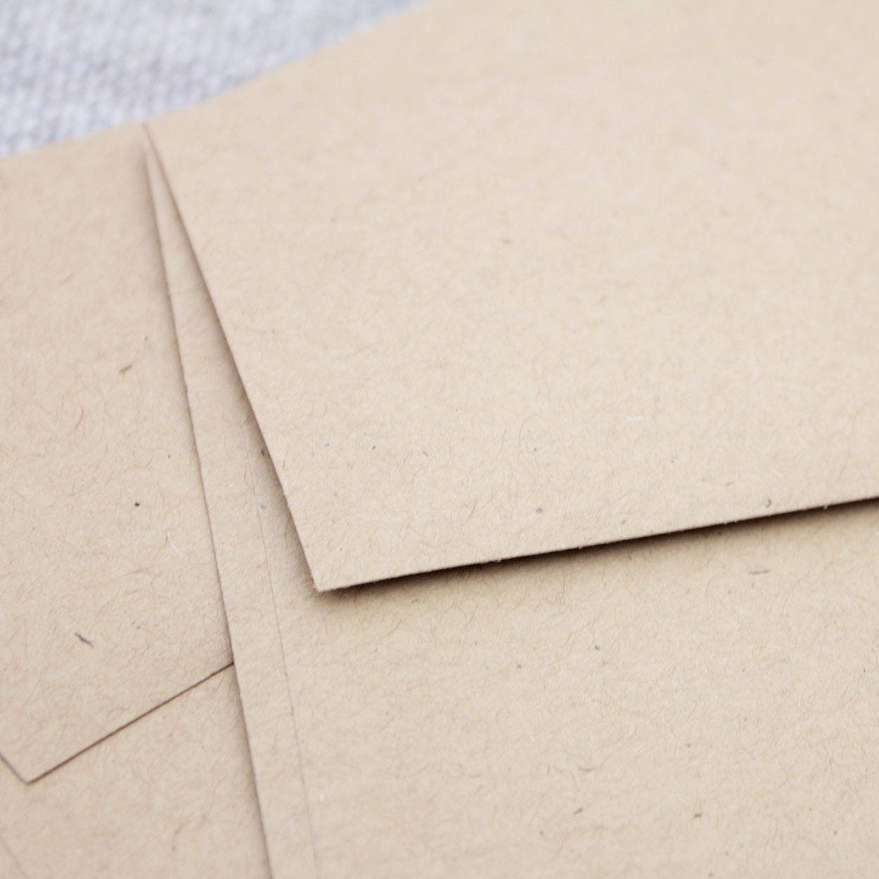 Kraft Envelopes / Set of 25 / Kraft Brown / 4.375 x 5.75 / A2 ...