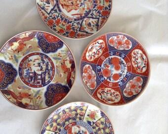 Set 4 Chinese decorative plates