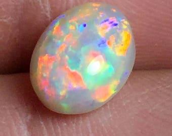 Very Pretty Multicolor Mintabie Opal