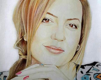 Custom Illustration Custom Colored Portrait Custom Sketch Custom Pencil Portrait Custom Hand Drawn Custom Digital Portrait Custom Drawing
