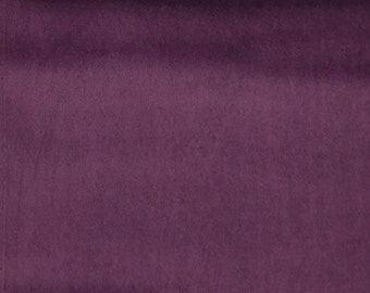 Velvet Upholstery Fabric - Liberty - Dahlia - Ultra Plush Microvelvet Upholstery Velvet Fabric by the Yard - Available in 38 Colors