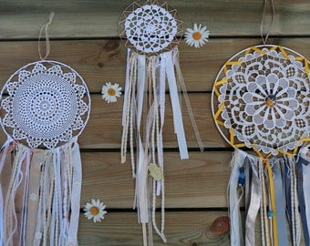 Handemade Dreamcatcher / hanging wall / baby shower gift
