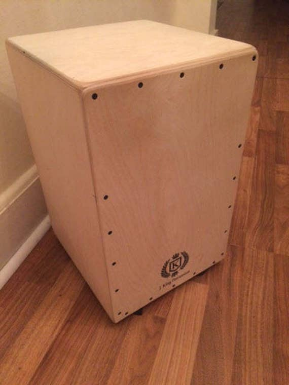 Professional All Birch Cajon w/Knob Adjustable String Tension - Natural