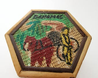 Bamboo Trinket Box/ Stash Box/ Bahama Box