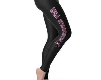 USA Weightlifting Women's Leggings