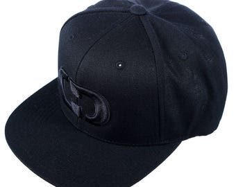GIMMEDAT Murdered Out Flat Bill Hat - Free Shipping!