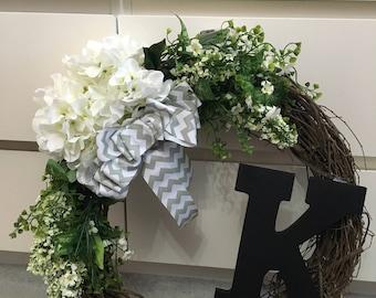 Simple White Wreath