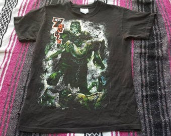 Rob Zombie Band Shirt Frankenstein Size Small
