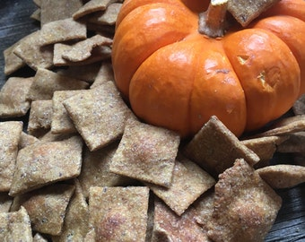 Large: Pumpkin Flax Dog Treats