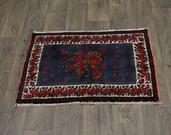 Great Shape Flower Design Gholtogh Zanjan Persian Rug Oriental Area Carpet 2X3