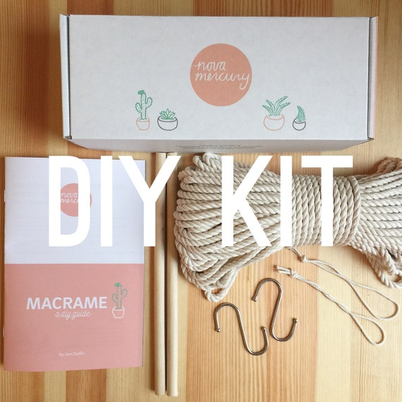 macrame wall hanging kit macrame wall hanging kit diy macrame kit mural kit gift 7828