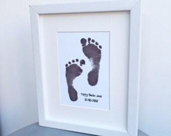 Hand or footprint keepsake print