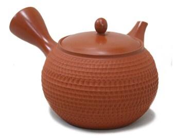 Tokoname Ware Kyusu Syudei Teapot Gyokko