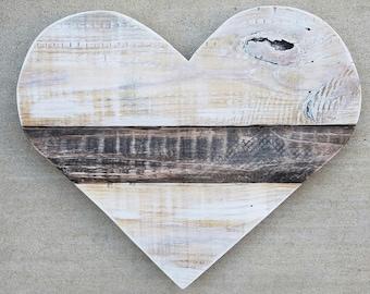 Large Wood Pallet Heart | Pallet Heart | Wood Heart | Wood Pallet Heart | Heart