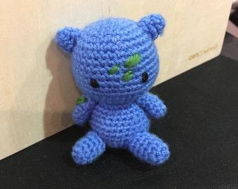 Pokemon crochet amigurumi Bulbasaur figure