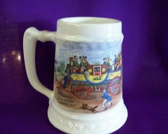 Vintage McCoy Pottery Stein