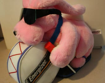 "RARE 1989 Engergizer Bunny Large 24"" Plush Like New!"