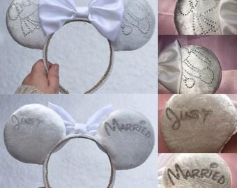 Just Married / Bridal ears