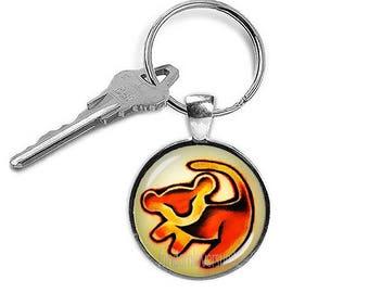 Simba Keychain Lion King Keyfob Simba Lion King Keyring Fangirl Fanboy